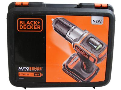 black decker asd18k 18 volt schrauber koffer bohrschrauber. Black Bedroom Furniture Sets. Home Design Ideas