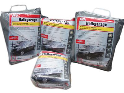 Apa HALBGARAGE S-XL ALLWETTERSCHUTZ PKW ABDECKUNG AUTOGARAGE SCHUTZHÜLLE APA
